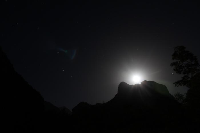 Mond in Kandersteg