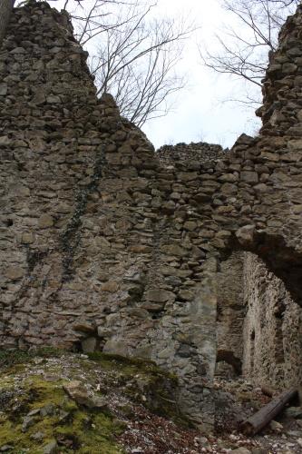 Ruinenmauer Jagdburg