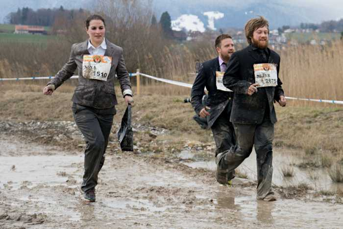 Survival Run auf der Allmend in Thun