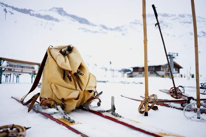 Nostalgie-Skitag Hickory Wedeln Engstligenalp