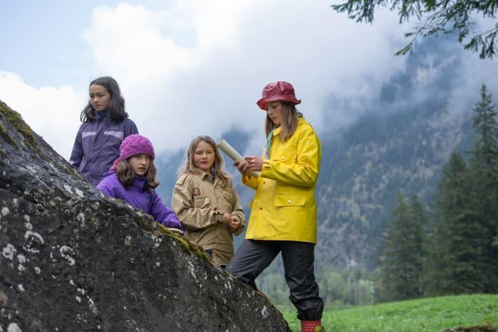 Postenlauf Bezirks Pfingstlager Kandersteg der Pfadi Berner Oberland