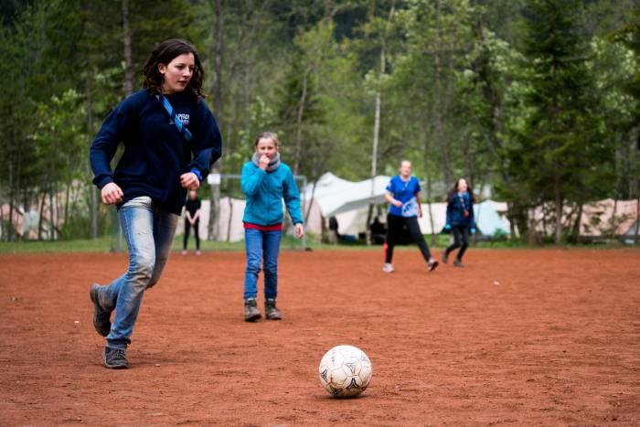 Bezirks-Pfingstlager Kandersteg 2016 - Fussbalturnier