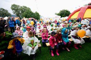 Publikum am Kinderland-Openair in Thun