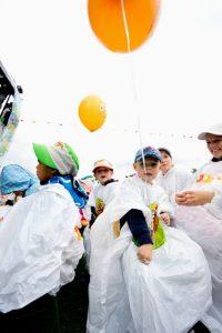 Regenmäntel Kinderland-Openair in Thun