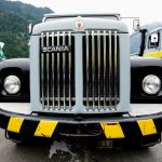 Lastwagen am Truckerfestival in Interlaken