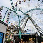 Riesenrad am Festival AmSchluss in Thun