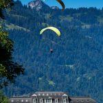 Gleitschirmflieger Interlaken