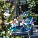 Seifenblasen Höhenmatte Interlaken
