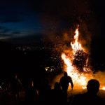 Höhenfeuer am Gatafel (Niesen) in Wimmis