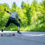 Downhill-Longboarder