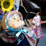 Handpuppe am Buskers-Festival in der Berner Altstadt
