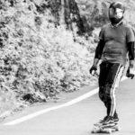 Longboard Downhillrennen