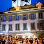 Halunke-Konzert auf dem Rathausplatz vor dem Schloss Thun
