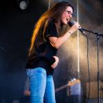 Konzert von Veronica Fusaro am Thunfest auf dem Rathausplatz