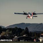 Swisstopo Flugzeug am Militärischen Grossanlass Thun meets Army and Airforce